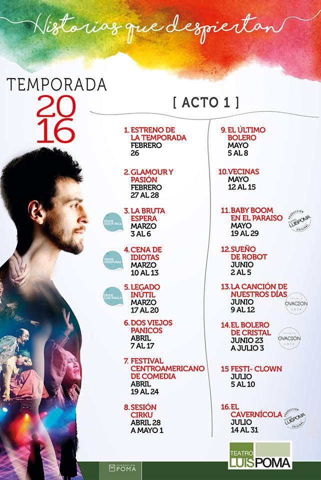 Afiche Luis Poma